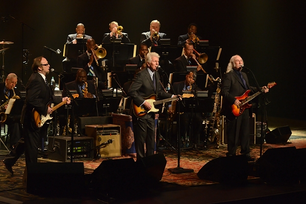 Stephen Stills, Graham Nash and David Crosby of Crosby, Stills and Nash perform with Jazz at Lincoln Center by Frank  Stewart