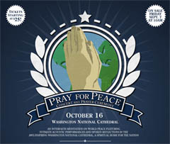Pray for Peace Concert and Prayer Ceremony